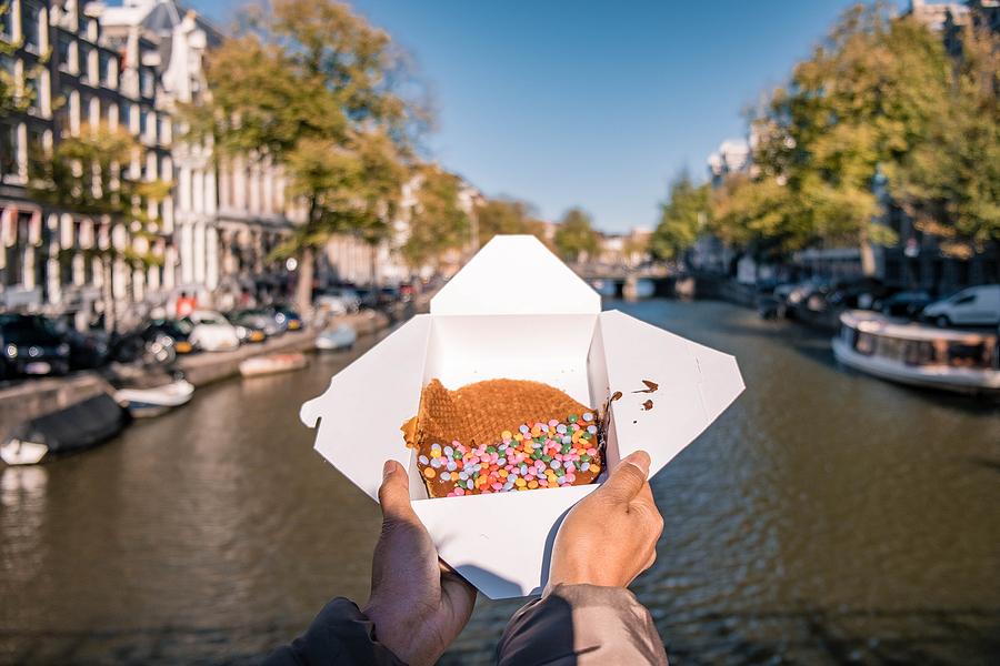 stroopwafel amsterdam - Nederländsk mat & dryck